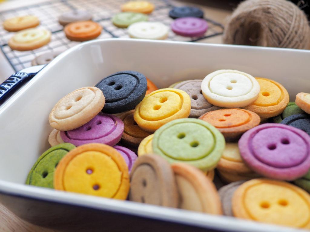カラフルなクッキー